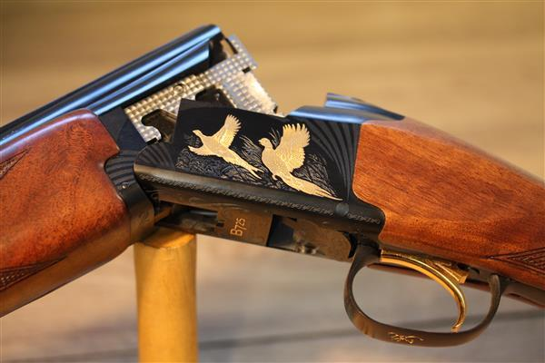 Browning B725 Hunter Black and Gold 12G | RK Stockcraft